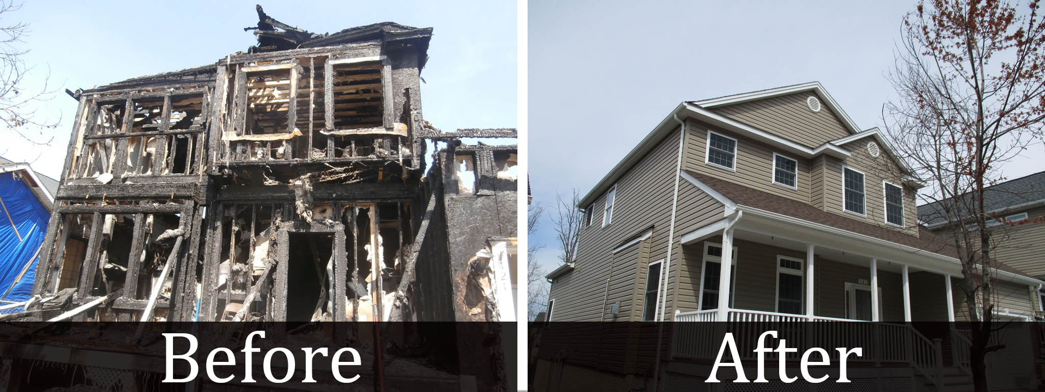 Residential Fire Restoration in Fredericksburg VA