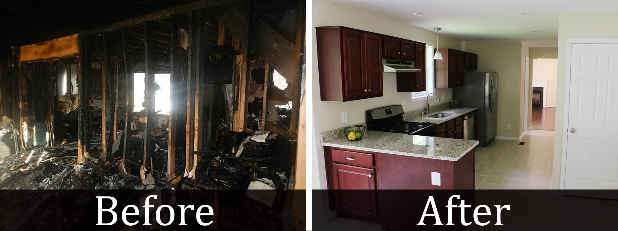 Jenkins Kitchen Fire Damage Restoration - Rockville MD