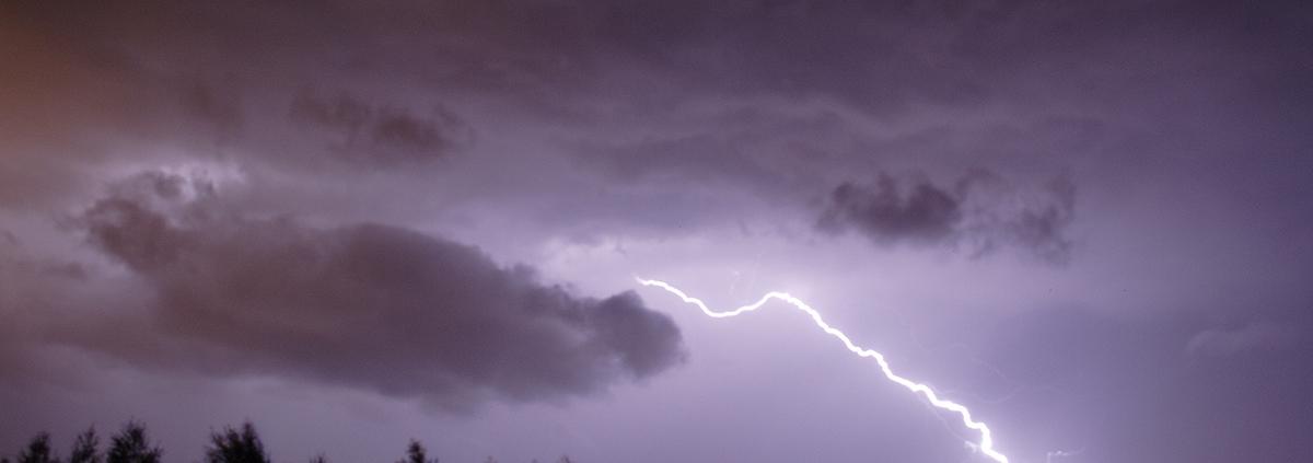 Jenkins Storm Damage - Lightning